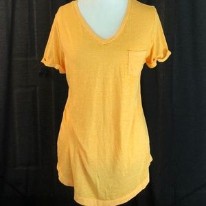 Style&Co. T-Shirt With Pocket Honey Glaze NWT